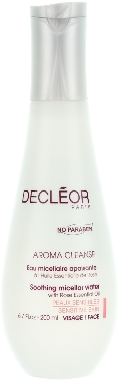 Acqua micellare detergente per viso e palpebre - Decleor Aroma Cleanse Soothing Micellar Water