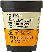 """Profumi e cosmetici Sapone liquido """"Mango tailandese e cocco"""" - Cafe Mimi Soap"""