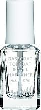 Profumi e cosmetici Base Coat e Top Coat - Barry M All In One Nail Paint