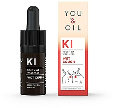 Profumi e cosmetici Miscela di oli essenziali - You & Oil KI-Wet Cough Touch Of Welness Essential Oil