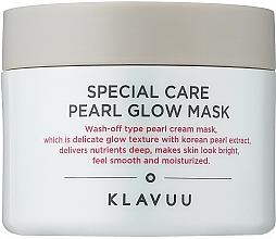 Profumi e cosmetici Maschera viso all'argilla - Klavuu Special Care Pearl Glow Mask