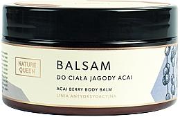 """Profumi e cosmetici Balsamo corpo """"Bacche di Acai"""" - Nature Queen Body Balm"""