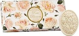 """Profumi e cosmetici Set di sapone artigianale """"Rose"""" - Saponificio Artigianale Fiorentino Rose Blossom (Soap/3x125g)"""