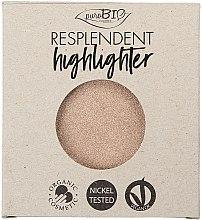 Profumi e cosmetici Illuminante - PuroBio Cosmetics Resplendent Highlighter (ricarica)