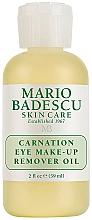Profumi e cosmetici Olio struccante occhi - Mario Badescu Carnation Eye Make-Up Remover Oil