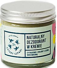Profumi e cosmetici Deodorante in crema al profumo di erbe agrumi - Cztery Szpaki