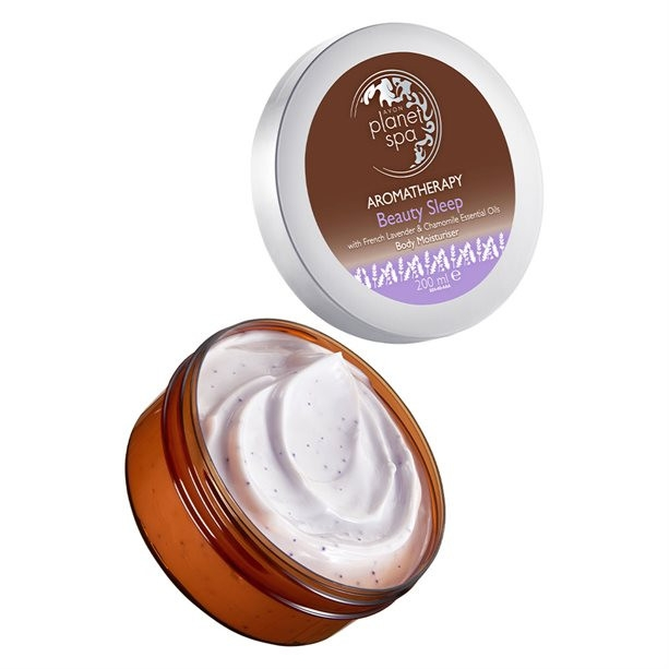 Lozione corpo alla lavanda e camomilla - Avon Planet Spa Aromatherapy Beauty Sleep