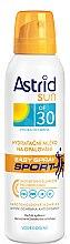 Profumi e cosmetici Latte-spray solare idratante SPF 30 - Astrid Easy Spray Sports SPF 30