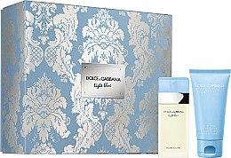 Profumi e cosmetici Dolce&Gabbana Light Blue - Set (edt/25ml + b/cr/50ml)