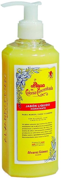 Alvarez Gomez Agua De Colonia Concentrada - Sapone liquido