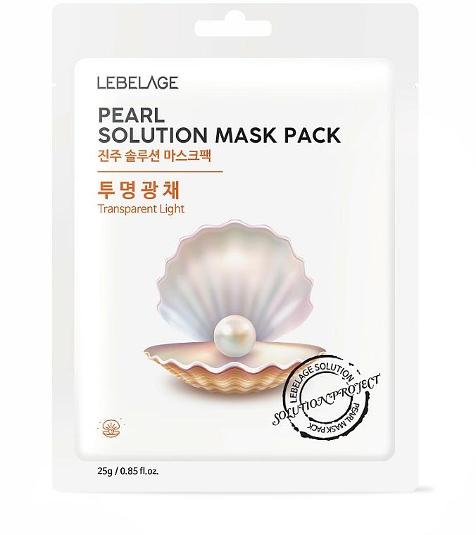 Maschera viso in tessuto - Lebelage Pearl Solution Mask