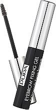 Profumi e cosmetici Gel fissativo per sopracciglia, trasparente - Pupa Transparent Eyebrow Fixing Gel