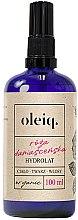Profumi e cosmetici Idratato rosa damascena per viso, corpo e capelli - Oleiq Damask Rose Hydrolat