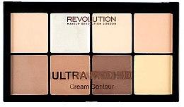 Profumi e cosmetici Palette contouring viso - Makeup Revolution HD Pro Cream Contour