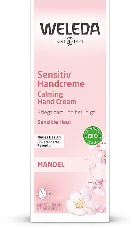 Crema mani delicata con mandorle - Weleda Mandel Sensitiv Handcreme — foto N3