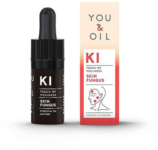 Miscela di oli essenziali - You & Oil KI-Skin Fungus Touch Of Welness Essential Oil