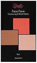 Profumi e cosmetici Pallette per il contouring viso - Sleek Makeup Face Form Ultimate Contour Kit Fair