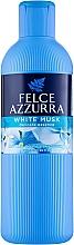 """Profumi e cosmetici Bagnodoccia """"Muschio bianco"""" - Felce Azzurra Shower Gel And Bath Foam"""