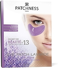 Profumi e cosmetici Patch occhi al collagene con estratto di lavanda - Patchness Eye Patch Lavender