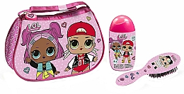 Profumi e cosmetici Air-Val International LOL Surprise - Set (shmp/120ml + brush + bag)