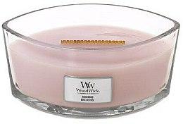 Profumi e cosmetici Candela profumata in bicchiere - WoodWick Hearthwick Flame Ellipse Candle Rosewood