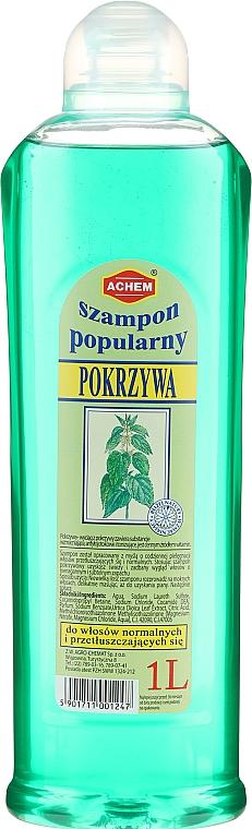 "Shampoo per capelli ""Ortica"" - Achem Popular Nettle Shampoo"