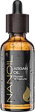 Profumi e cosmetici Olio di Argan - Nanoil Body Face and Hair Argan Oil