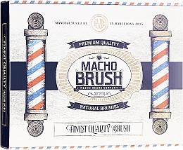 Profumi e cosmetici Spazzola per barba - Macho Beard Company Macho Brush