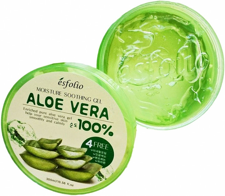 Gel idratante all'aloe vera - Esfolio Moisture Soothing Gel Aloe Vera 100% Purity — foto N3