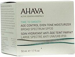 Profumi e cosmetici Crema idratante rigenerante, anti-età (SPF 20) - Ahava Age Control Even Tone Moisturizer Broad