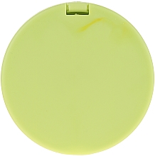 Specchietto tascabile rotondo 85543, verde neon - Top Choice Colours Mirror — foto N3