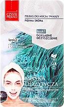 "Profumi e cosmetici Maschera viso ""Peeling + maschera nutriente"" - Czyste Piekno Peel Mask"