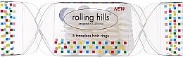 Profumi e cosmetici Elastico per capelli, trasparente - Rolling Hills 5 Traceless Hair Rings Cracker