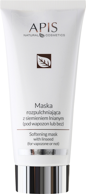 Maschera lenitiva con olio di lino - APIS Professional Softening Mask With Linseed