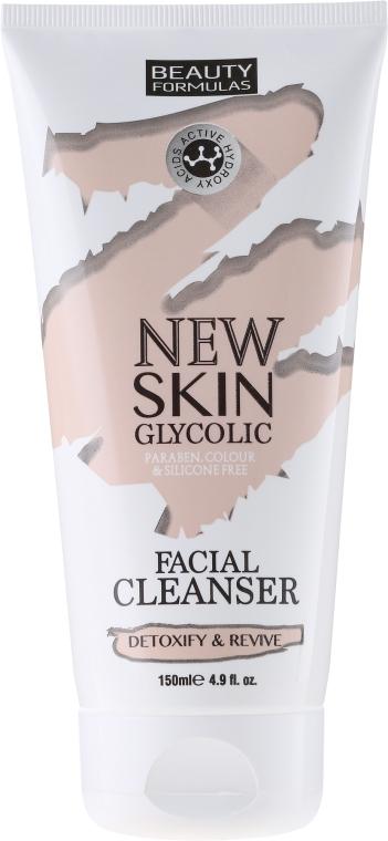 Latte detergente viso - Beauty Formulas New Skin Glycolic Facial Cleanser