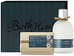 Profumi e cosmetici Bath House Bergamot & Amber - Set (edc/100ml + soap/150g)