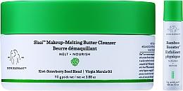 Profumi e cosmetici Burro detergente - Drunk Elephant Slaai Makeup-Melting Butter Cleanser (cleanser/110g + booster/3g)