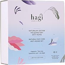 Profumi e cosmetici Set - Hagi Natural Face Care Anti-aging Set (cr/30ml + elixir/30ml)