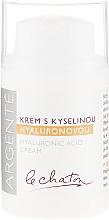Profumi e cosmetici Crema idratante acido ialuronico - Le Chaton Argente Moisturizer With Hyaluronic Acid