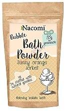 Profumi e cosmetici Polvere da bagno - Nacomi Sunny Orange Sorbet Bath Powder
