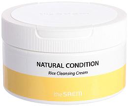 Profumi e cosmetici Crema detergente all'estratto di riso - The Saem Natural Condition Rice Cleansing Cream
