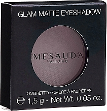 Profumi e cosmetici Ombretto opaco - Mesauda Milano Glam Matte Eye Shadow