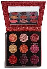 Profumi e cosmetici Palette ombretti glitter - Makeup Revolution Pressed Glitter Palette Hot Pursuit