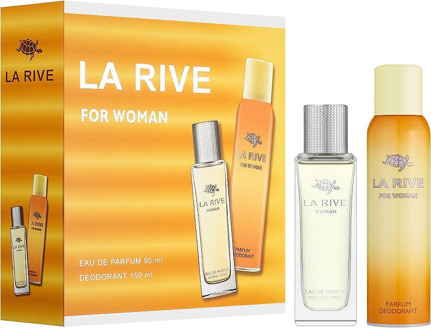 La Rive Woman - Set (edp/90ml + deo/150ml) — foto N1