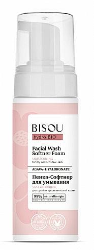 Schiuma-softer idratante - Bisou Hydro Bio Facial Wash Softner Foam — foto N1