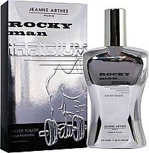 Profumi e cosmetici Jeanne Arthes Rocky Man Irridium - Eau de toilette