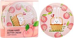 """Profumi e cosmetici Crema mani """"Pesca"""" - SeaNtree Steam Hand Butter Cream Soft Peach Bunny"""