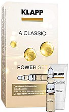 "Profumi e cosmetici Set ""Vitamina A"" - Klapp A Classic Power Set (conc/3x2ml + cr/3ml)"