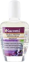 Profumi e cosmetici Olio d'uva per viso e corpo - Nacomi Natural