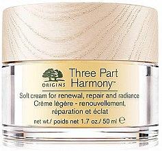 Profumi e cosmetici Crema viso rivitalizzante - Origins Three Part Harmony Soft Cream